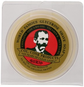 3 Col. Conk Worlds Famous Shaving Soap