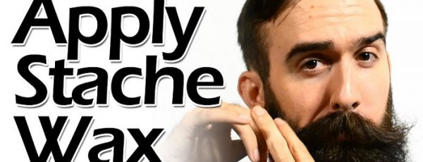 How to Use Moustache Wax the Proper Way
