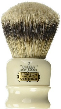 a Chubby 2 Best Badger Shave Brush