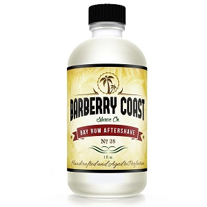 barberry coast bay rum aftershave no 9