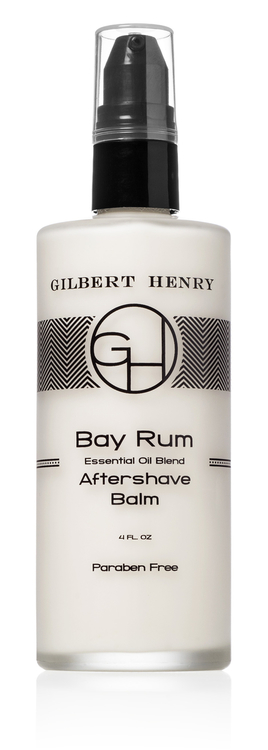 gilbert henry bay rum aftershave