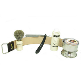 cut throat razor gift set
