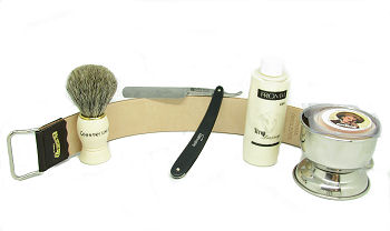 straight razor shaving kits