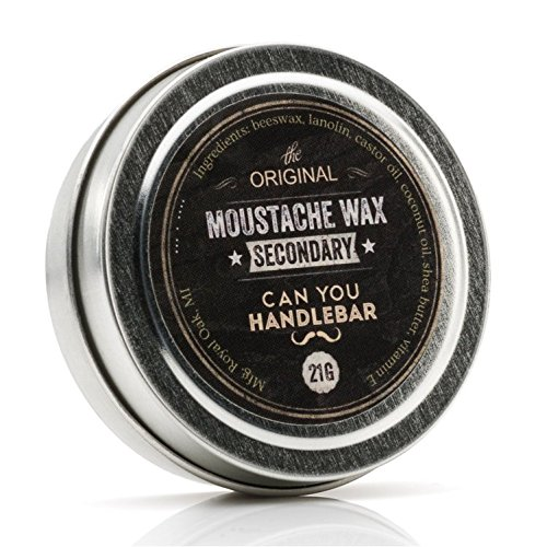 CanYouHandleBar Secondary Moustache Wax 1 OZ Can
