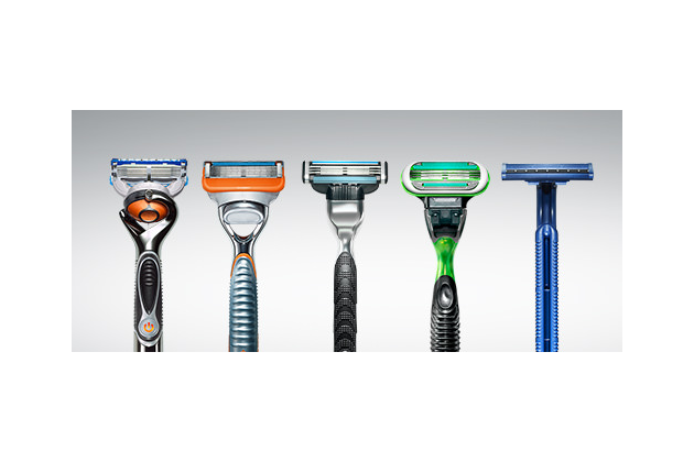 Gillette Safety Razor Luxury Shaves