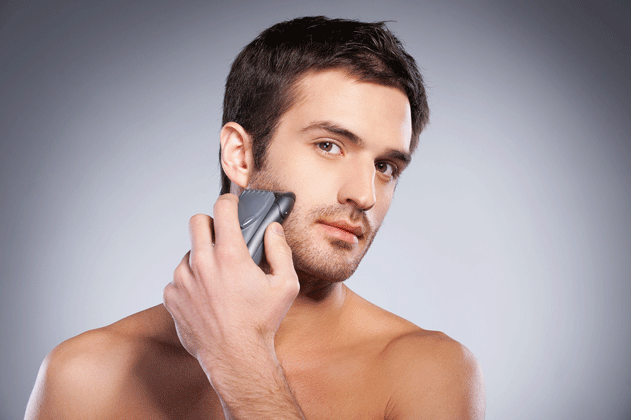 man-using-good-electric-razor