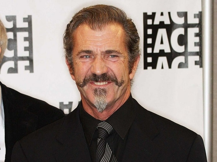 the actor Mel Gibson wearing an Imperial beard
