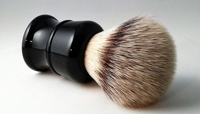 a Frank brush placed on a table