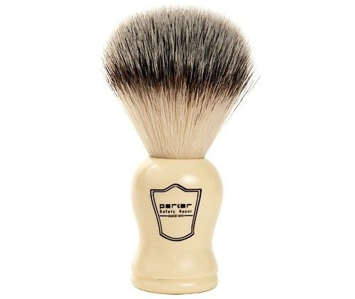 a parker safety shaving brushes
