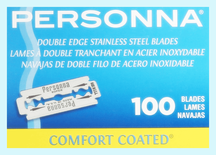 personna double edge safety blades