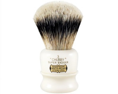a Chubby CH3 Super Badger Shaving Brush