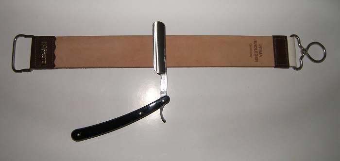 strop and straight razor, how to sharpen a straight razor