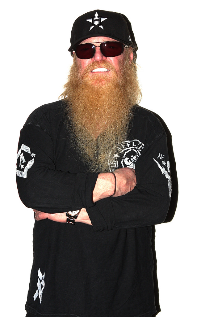 Billy Gibbons having one the epic beards