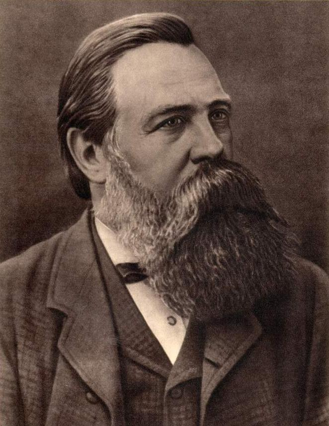 Friedrich Engels having one of the epic beards