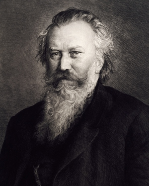Johannes Brahms having one of the epic beards