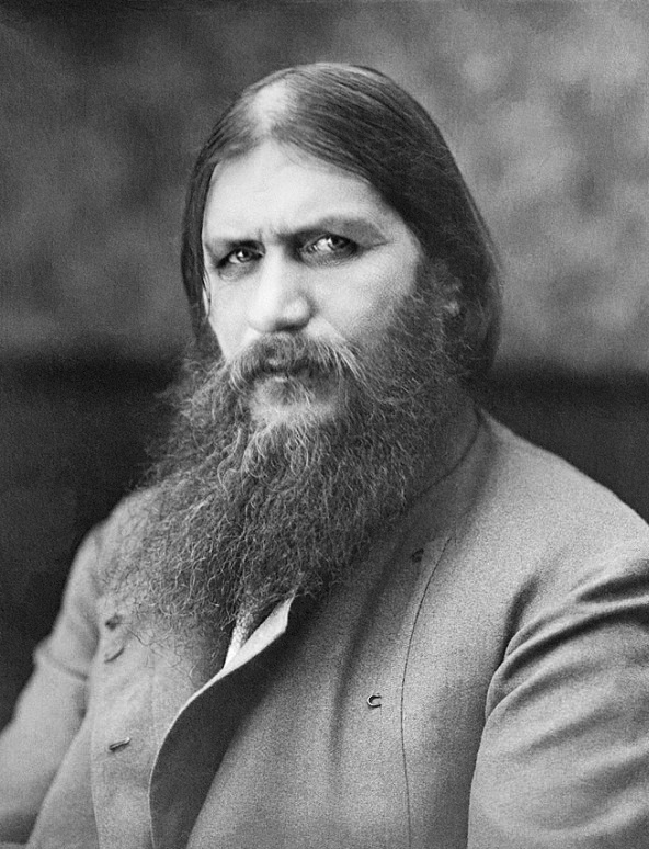 Rasputin having one of the epic beards