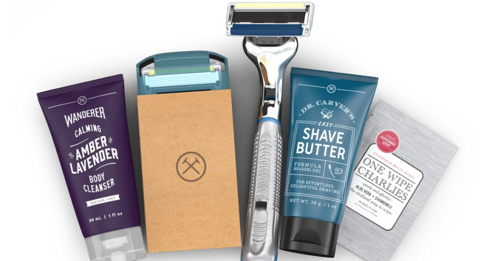 Kit from Dollar Shave Club vs Harrys